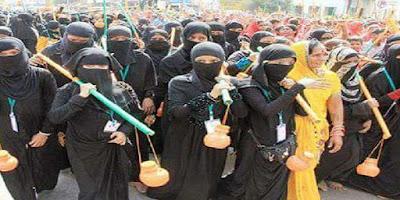 Muslim women joined kanwar Yatra