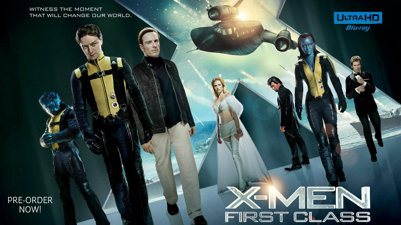 X-Men First Class 4K (2011) 4K Ultra HD Blu-ray