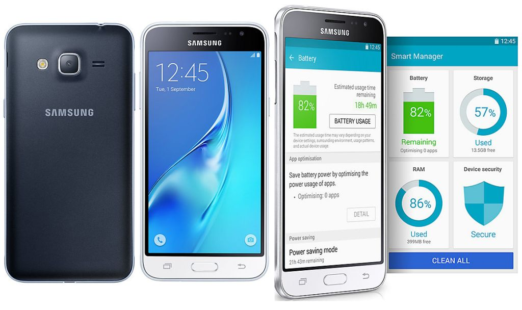 Galaxy J3 SM-J320G with Specifications