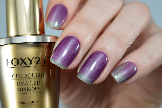 thermal colour change holographic gel polish review