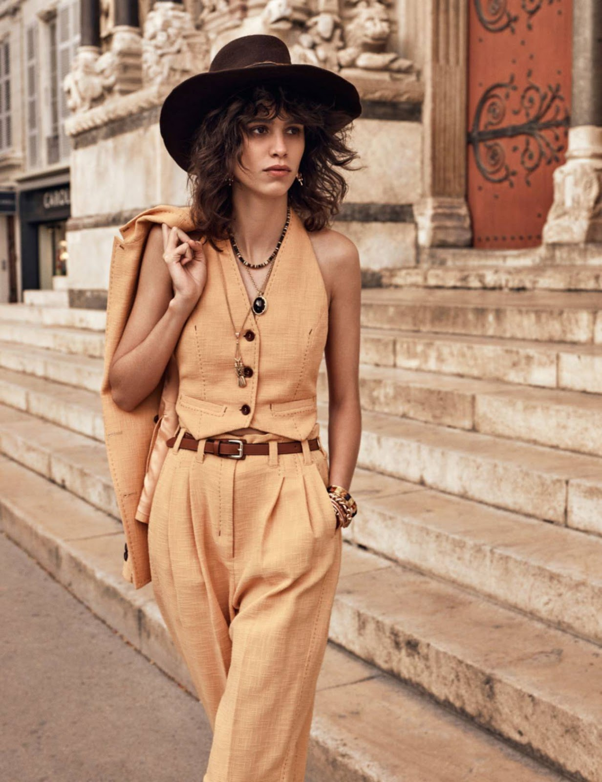 Mica Arganaraz by Mikael Jansson for Vogue Paris June 2016