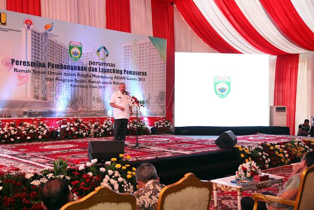 Menteri PUPR RI Resmikan Pembangunan dan Melaunching Pemasaran RSU