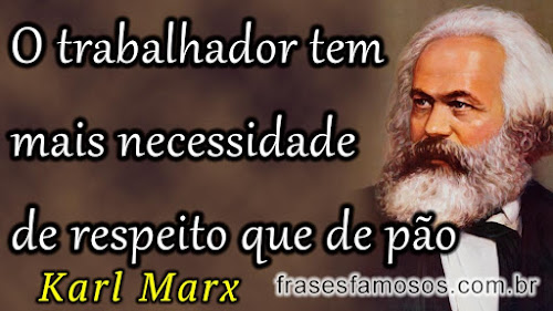 Karl Marx - frases trabalhor
