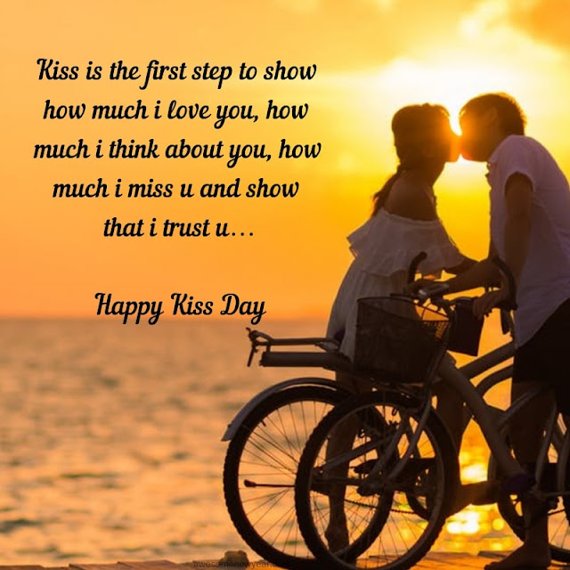Happy Kiss Day Messages