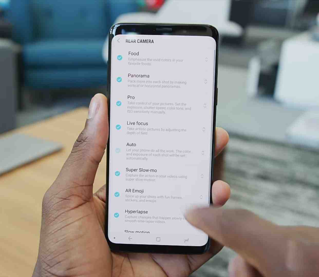 The Samsung Galaxy S9 and S9 Plus Camera Shooting Modes