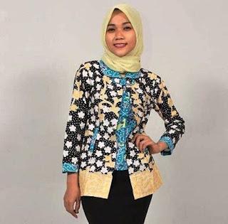 Model Baju Batik Anak Muda Jaman Sekarang