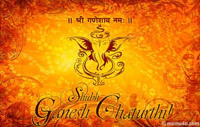 Happy Ganesh Chaturthi whatsapp dp