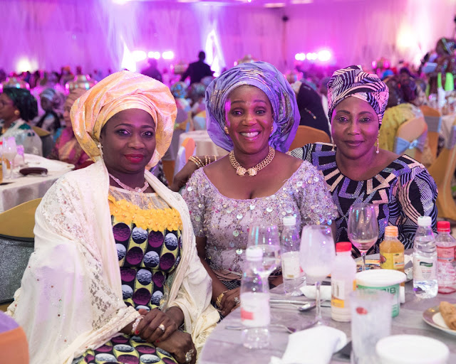 governor wives at buhari wedding