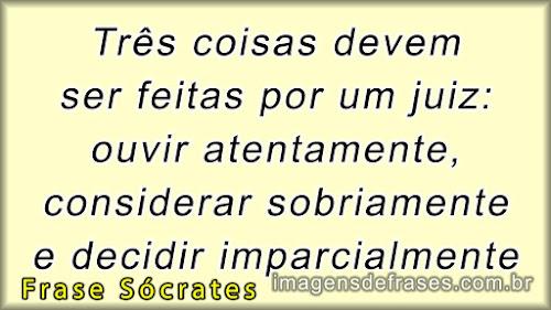 frases de Sócrates sobre a justiça
