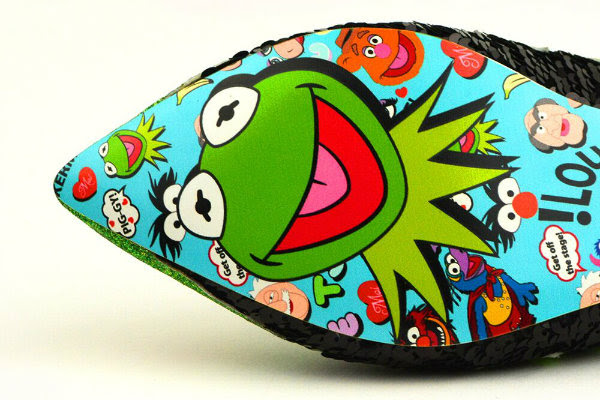 Irregular Choice Disney Kermit The Frog sole