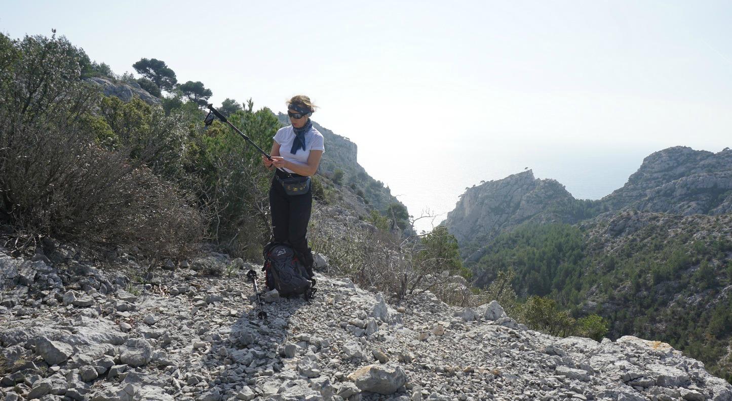 Col de l Oul near Cassis