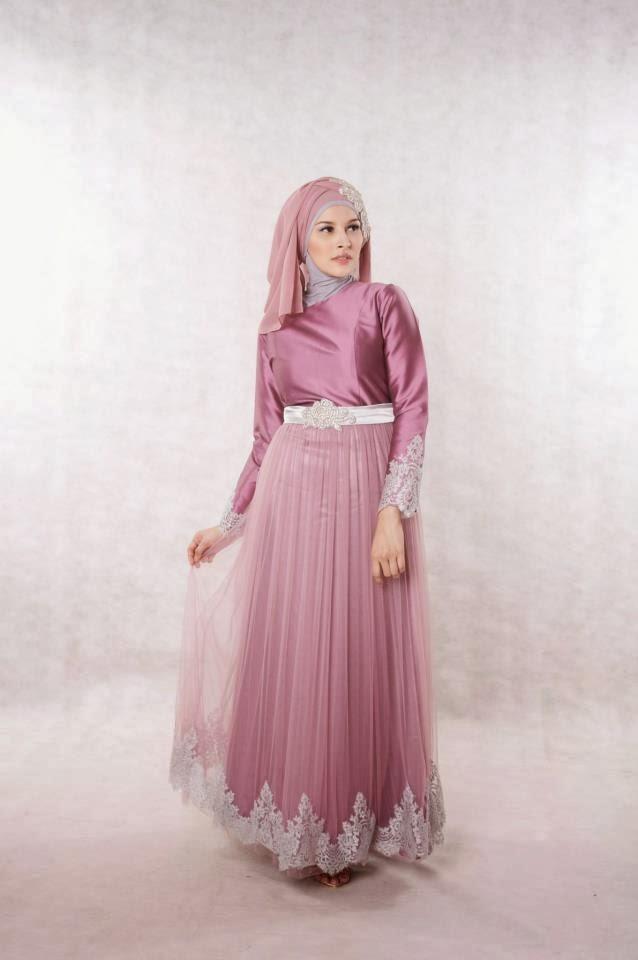 Contoh Gaun Muslimah