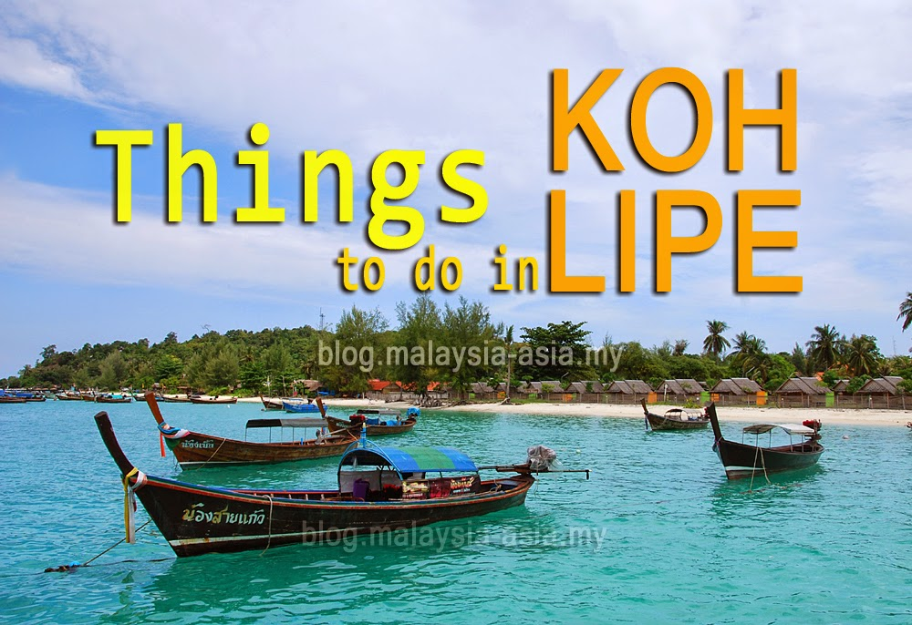 Things to do in Koh Lipe Island
