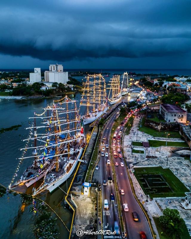 Puerto Sans Souci, Santo Domingo, República Dominicana. (Foto: @albertomrod)