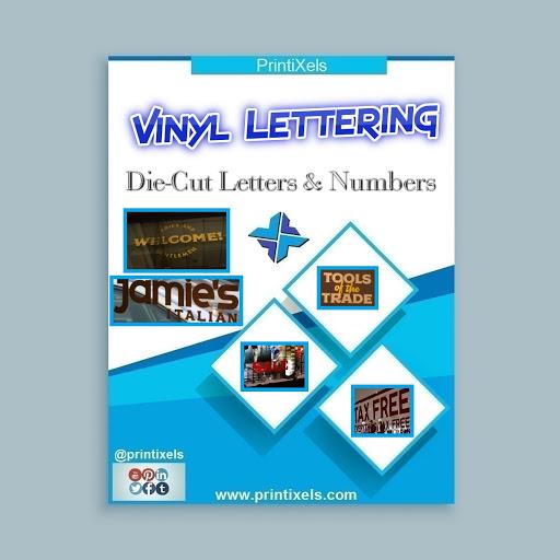 Vinyl Lettering Stickers, Die-Cut Letters & Numbers