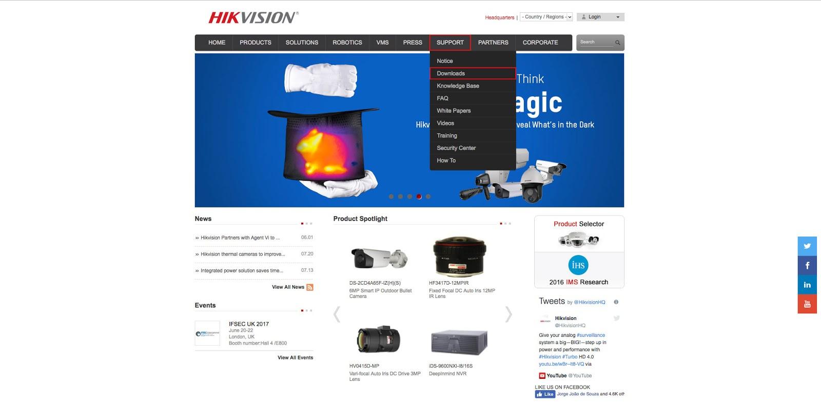 Como resetar a sua senha Hikvision - Delta Cable IT Solutions