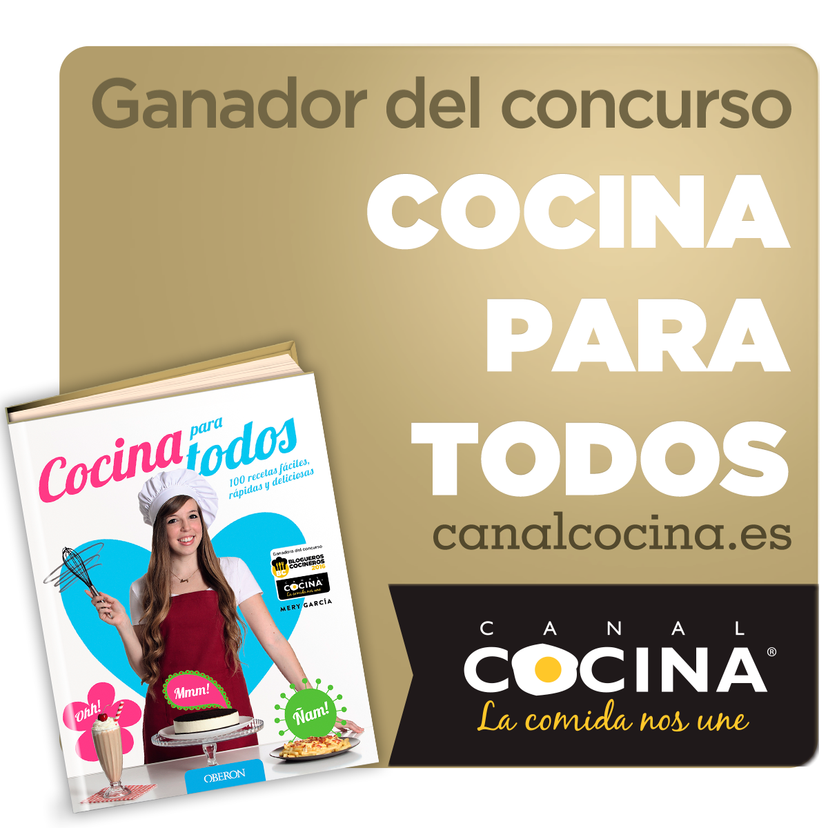 Los dulces secretos de cuca concursos for Cosina para todos