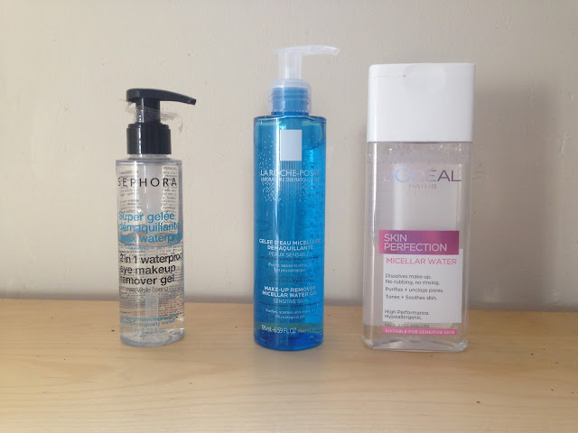 Make up removers favourites