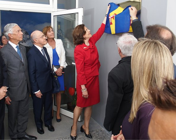 Queen Silvia attended the opening of new building of Princess D. Amelia Hospital and visited the Funchal Botanical Garden