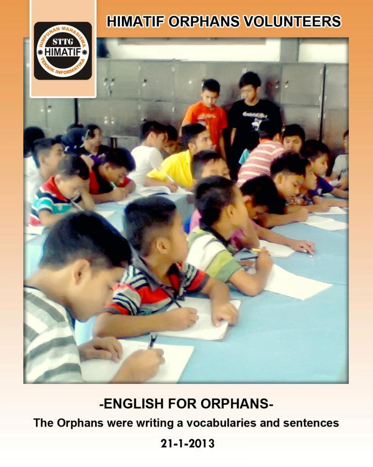 """""""ENGLISH FOR ORPHANS"""" Kursus Inggris Gratis Untuk Anak Yatim"""