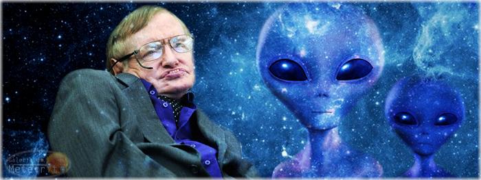 Stephen Hawking anuncia o maior projeto de busca por vida inteligente fora da terra