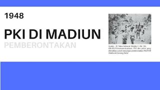PKI Madiun 1948 (Sejarah, Tujuan, Latar Belakang, Penumpasan)