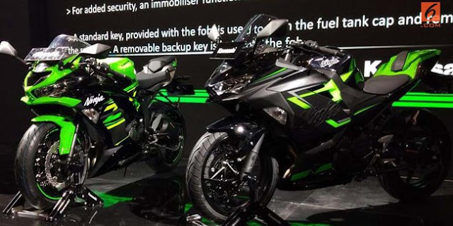 Tambahkan Fitur Smart Key, Harga New Kawasaki Ninja 250 Naik Rp2 Juta