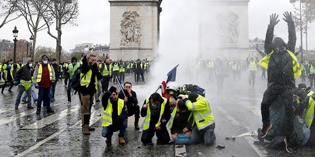 Γαλλία: Έρχονται μαζικές συλλήψεις για τα «κίτρινα γιλέκα»