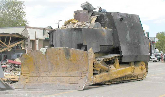Man Built a Homemade Tank to Destroy the Entire Town! Watch It Here!