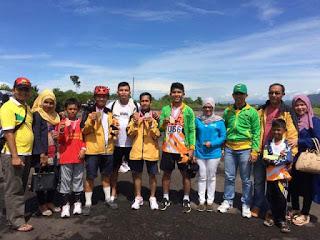 Hebat, Cabor Sepatu Roda Kota Pariaman Juara Umum di Porprov XIV Sumbar 2016