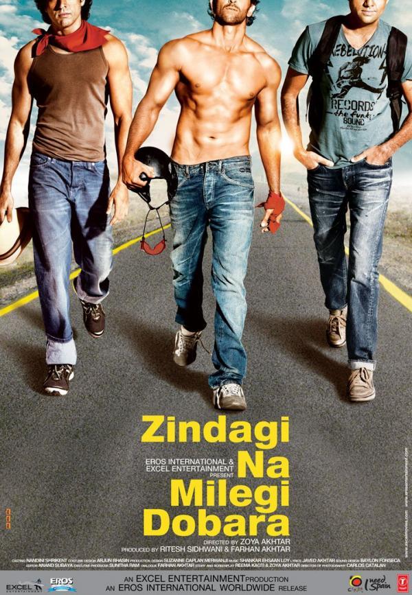 The Bombay Talkies: Zindagi Na Milegi Dobara Poster (UPDATED)