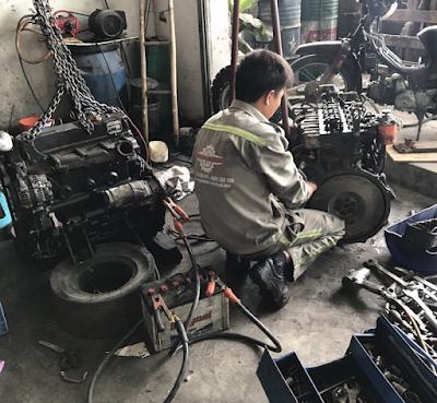 sửa chữa xe nâng tại tphcm