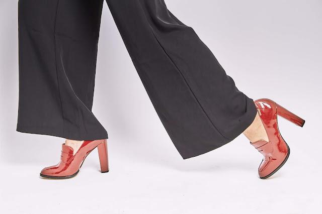 Pilihan pemakaian Wide leg trousers