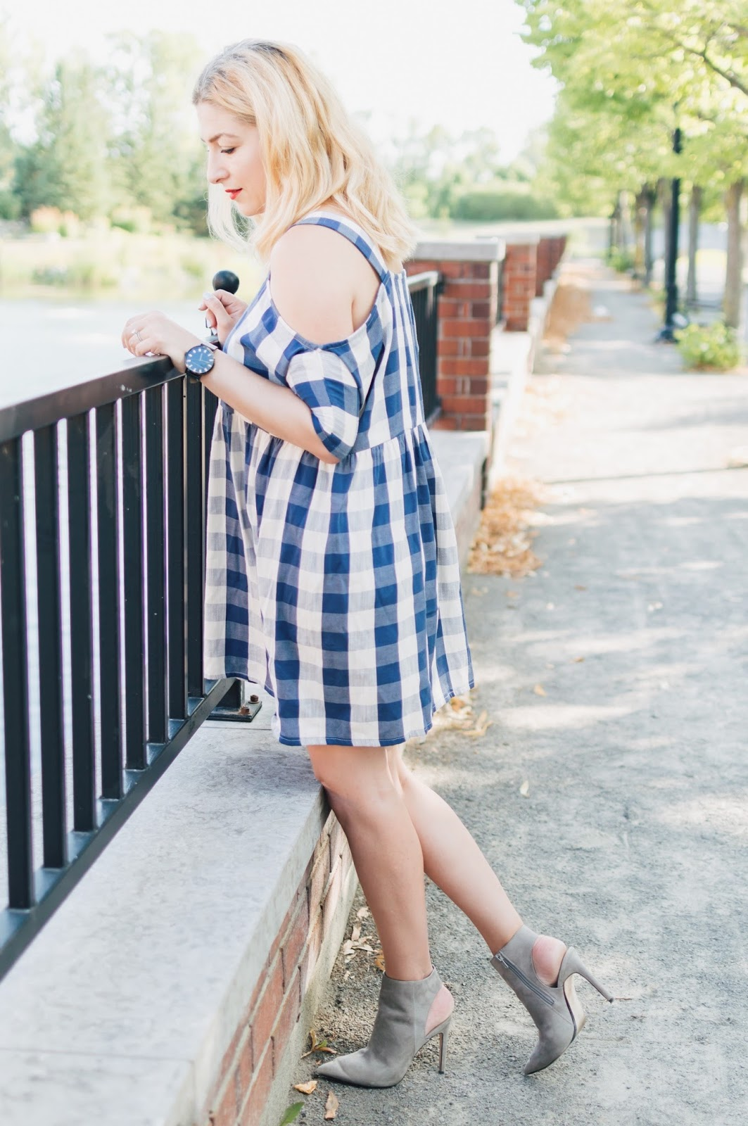 gingham summer style