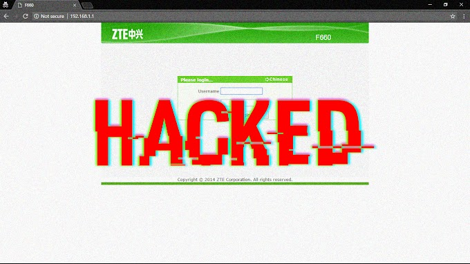 Mr.Read - Cara hack login router ZTE