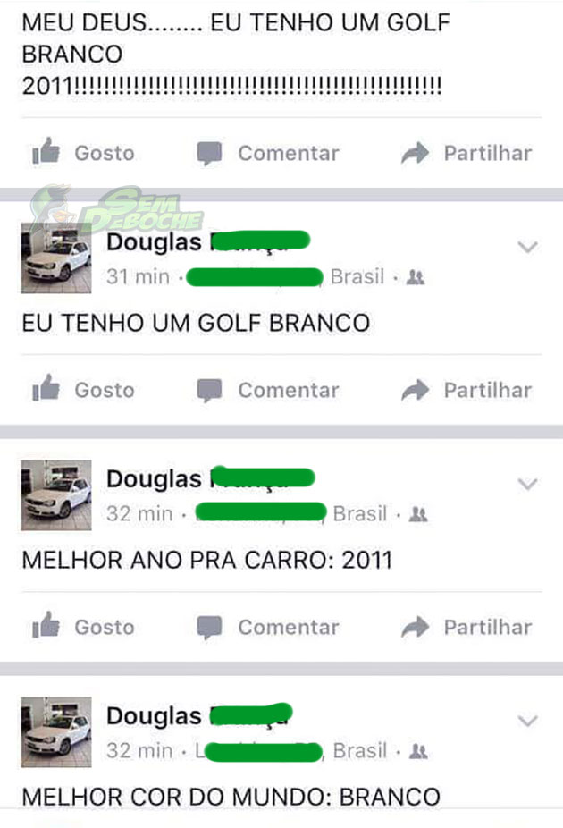 A HISTÓRIA DO DONO DE GOLF MAIS FELIZ DO MUNDO