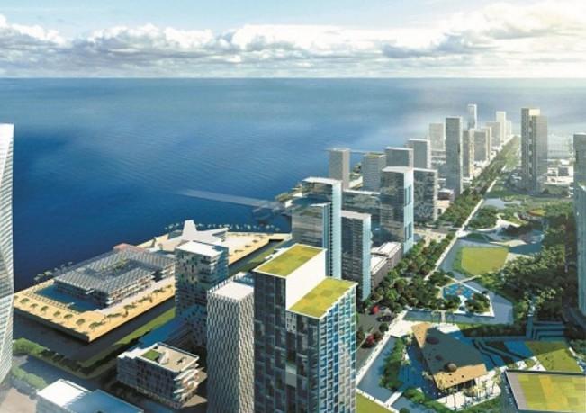Melihat fasilitas serta harga kota impian hasil reklamasi