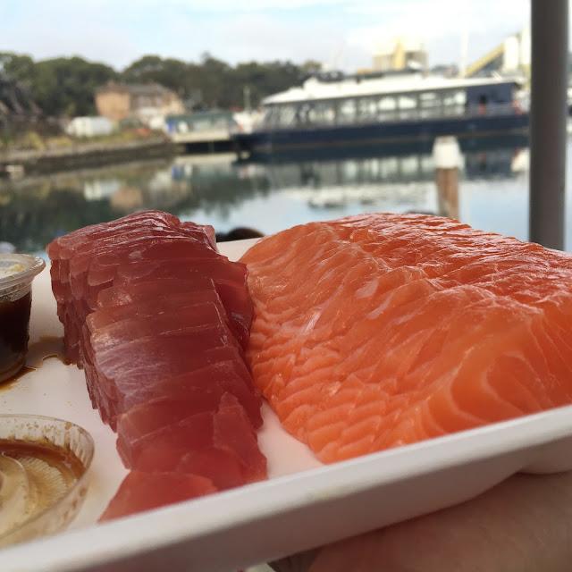 Sydney Fish Market - Sashimi