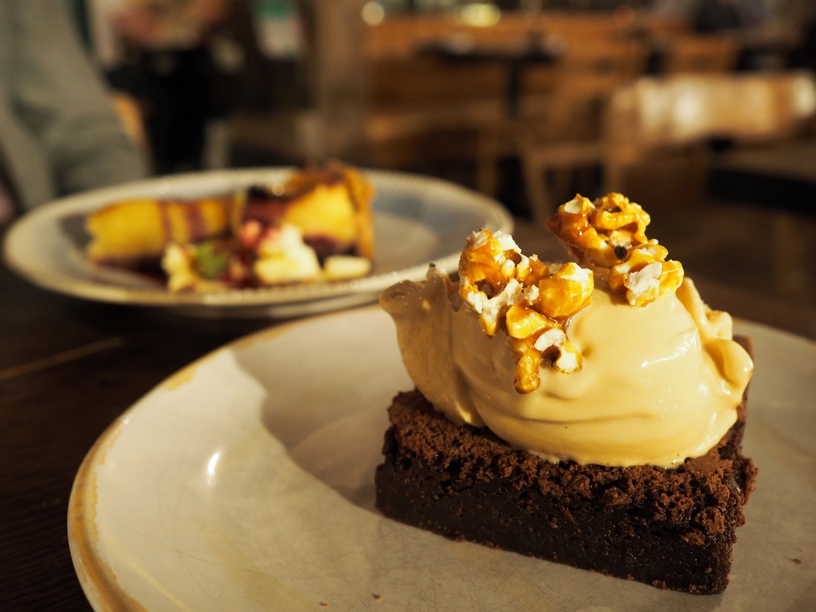 Jamie's Italian Newcastle Restaurant Review Epic Chocolate Brownie
