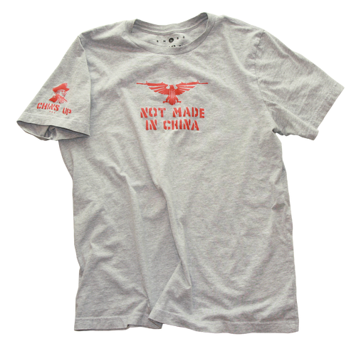 Chins Up Made In The USA Apparel, Bliss-Ranch.com