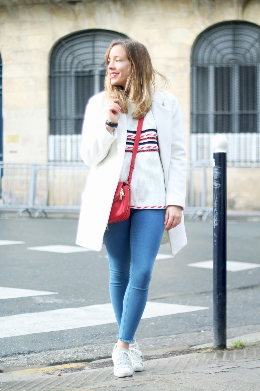 blog mode manteau blanc