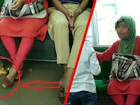 Buang Kulit Jeruk Di Commuter Line Saat Ditegur Ibu Ini Malah Lakukan Ini...