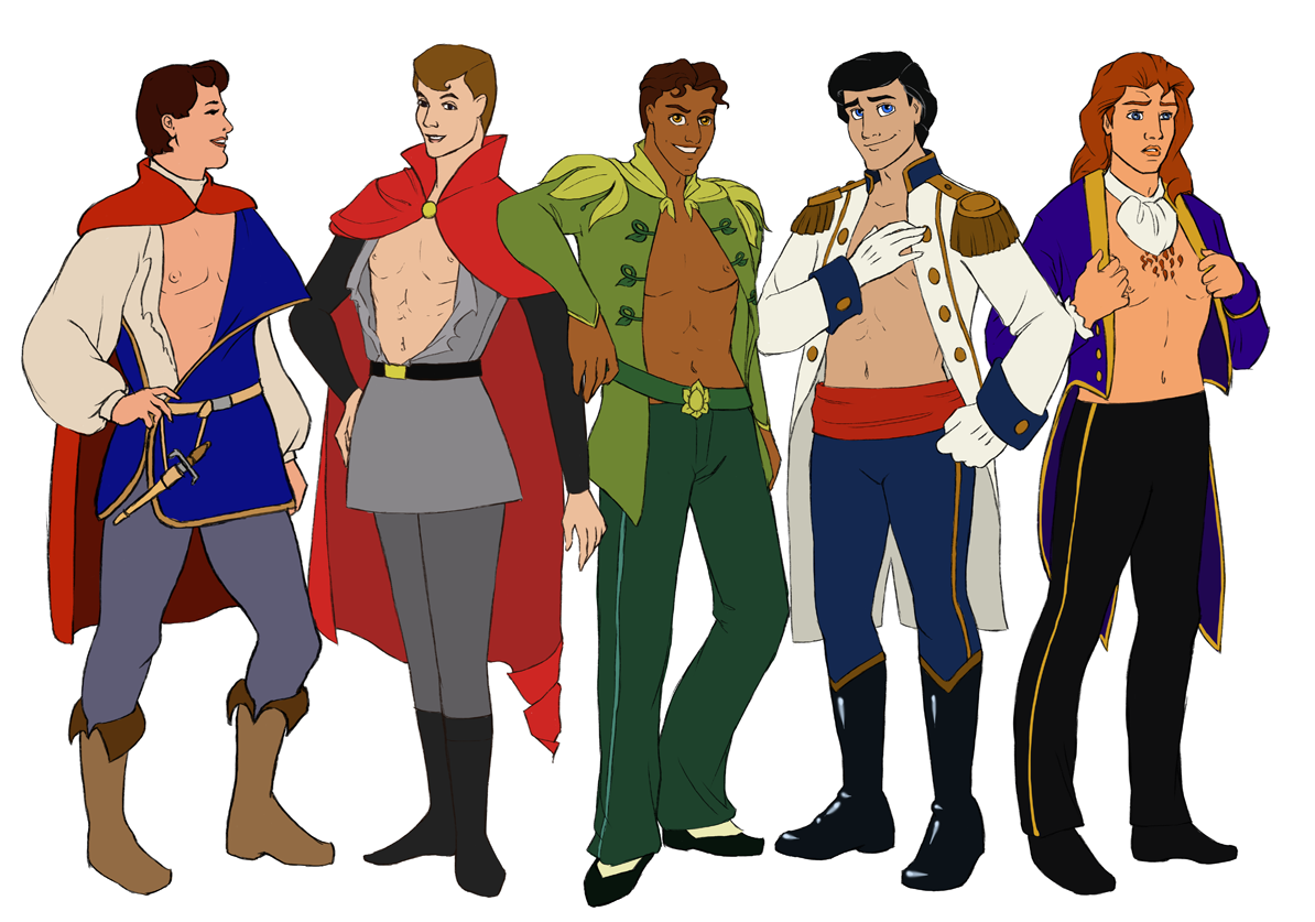 not your father s pin up disney princes