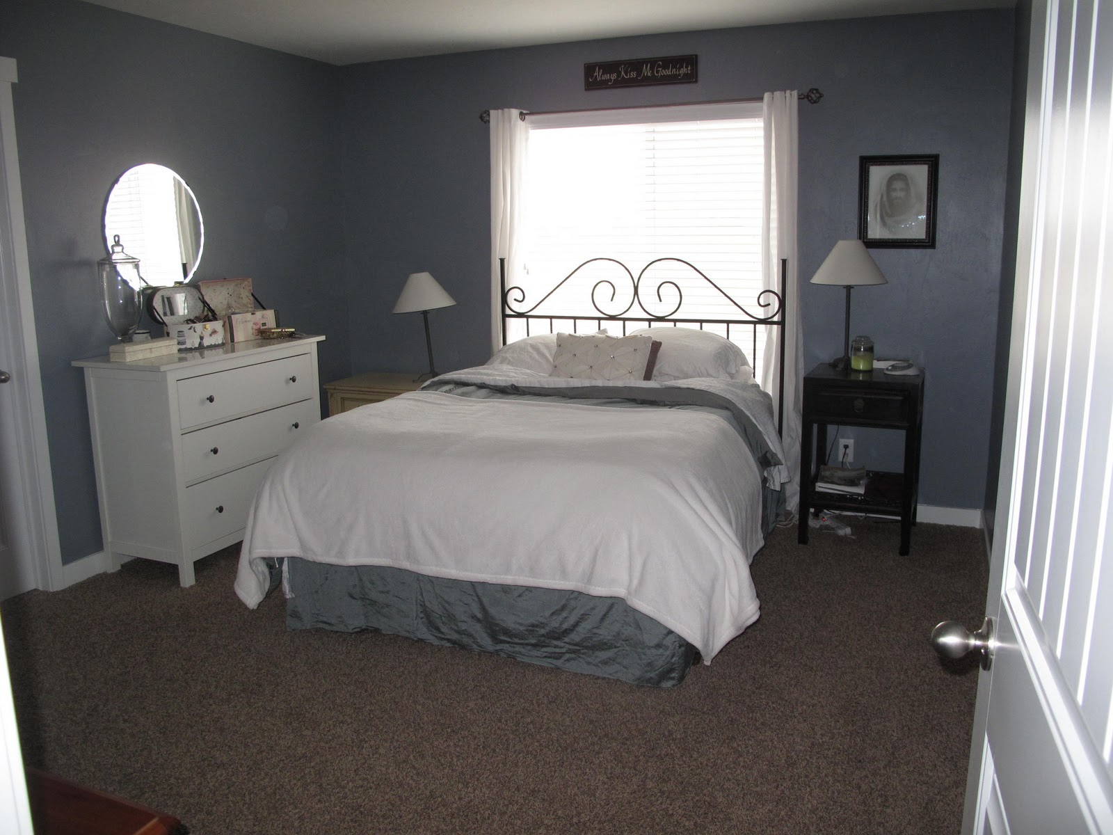 Chair Rail Bedroom Part - 47: Beautifying The Master Bedroom
