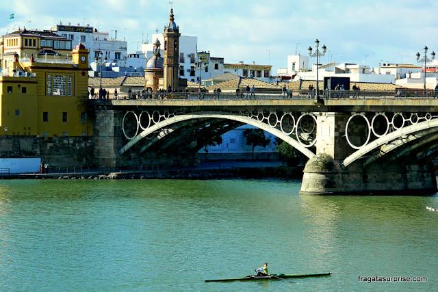 Sevilha, Rio Guadalquivir e Ponte de Triana