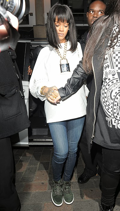 Rihanna and Drake visited the club in London