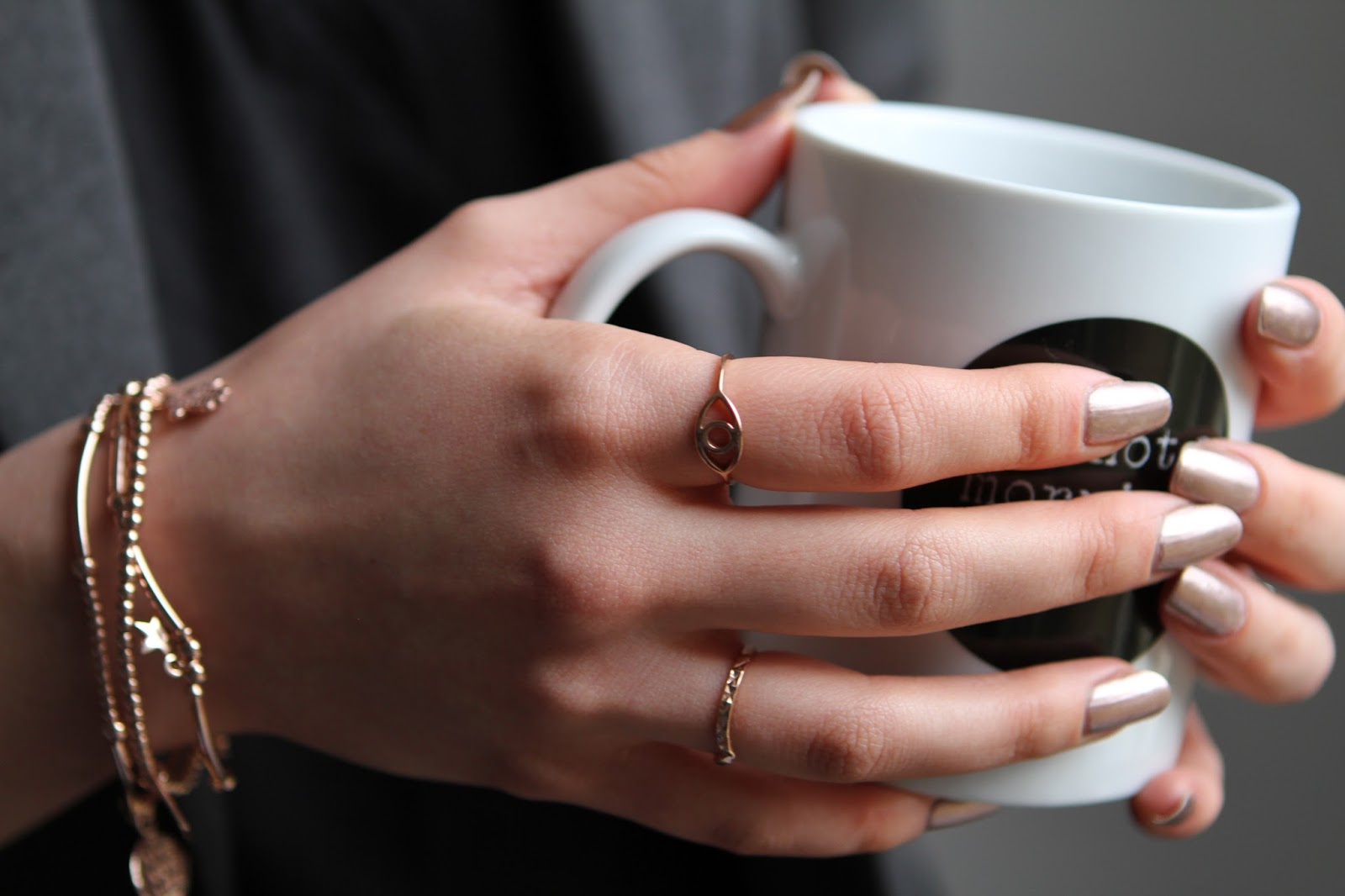 Happiness Boutique rose gold rings