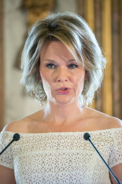 "Queen Mathilde of Belgium presented the 2016 ""Queen Mathilde Prize"" in a ceremony held at the Royal Palace in Brussels"