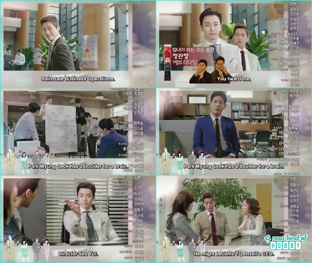 chief kim is after ceo yeol of TQ - Chief Kim: Episode 12 Preview
