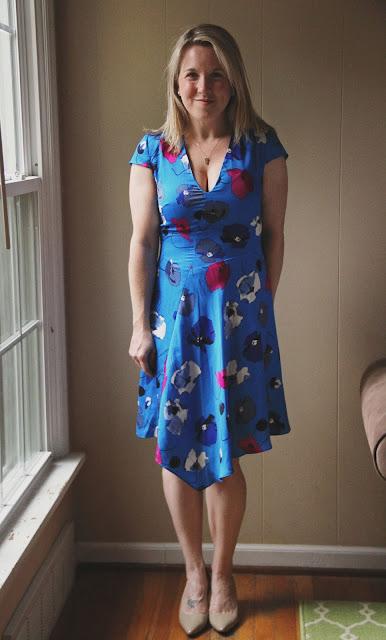 Stitch Fix Adrianna Papell Janett V-Neck Dress